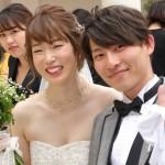 三重フットで出会った2人がゴールイン♪〜幸せいっぱいの結婚式でした〜